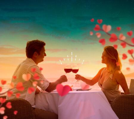 PLAN CENA ROMANTICA GHL Relax Hotel Sunrise San Andres